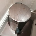 Luxury dirty bathroom bin