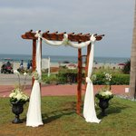 The Lawn for the Ceremony