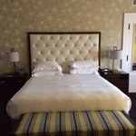 Very comfortable and plush bed
