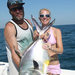 CDK Sharkslayer and Mrs Slayer and her BIG Permit from May 2014