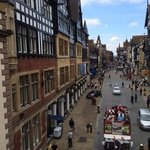 Chester Grosvenor view from the City Wall bridge