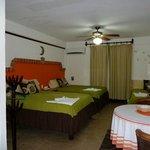 Habitación camas queen size