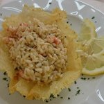 Limone Risotto with Prawns