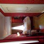 Deluxe double room.