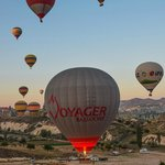 Taking off from Goreme