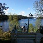 Le ponton et le lac