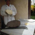moldeando el pan