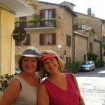 ......street walking in Torgiano....