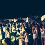 All white party! Was amazing