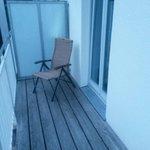 Balkon vom Zimmer 153