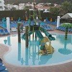 Evening shot of splash pool :)