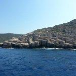 Живописные острова с каменными берегами