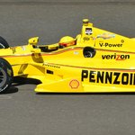 2014 2nd place car... helio castroneves of brazil...