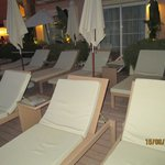 recliners in front of rooms on 3rd floor