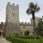 Uno scorcio del castello