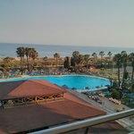 Lo único bueno del hotel La zona y la vista