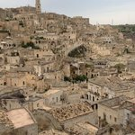 over looking Matera