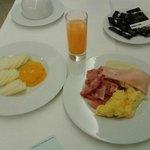 Breakfast in eight days in Portugal