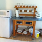 small kitchenette area