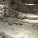 zona arqueologica interior del hotel