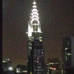 View from guest room 48th floor-Chrysler Bldg.