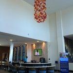 Gorgeous open lobby area