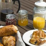Breakfast and plenty of it
