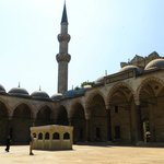 Мечеть Сулеймание - внутренний двор