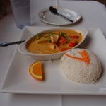 My Yellow Curry w/Chicken