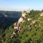 rocamadour from above