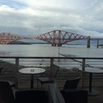 beautiful view from outside seating area