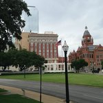 Dealey Plaza from the Grassy Knoll