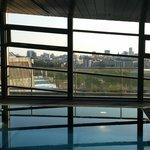 Dalla piscina
