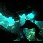 Diving in Blue Channel
