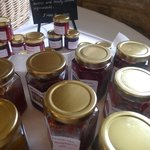 Lovely selection of local jams
