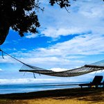 Hammock by the ocean front