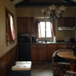 Kitchen in the housekeeping cabin