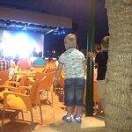kids enjoying the entertainment- chairs galore!