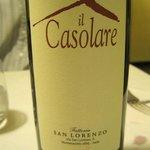 Delicious house wine