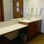 Bonus sink & counter space.