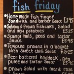 Fish Friday 12-2pm
