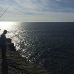 cliff fishing arranged by concierge