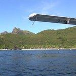 island from sea plane