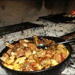 """traditional preparation of lamb """"peka"""""""