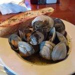 Steamed clams, yum!