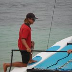Take a sailing lesson with Ruben