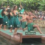 Canoe Parade - New Zealand