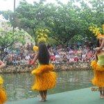 Canoe Parade - Tahiti