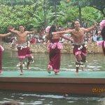 Canoe Parade - Samoa