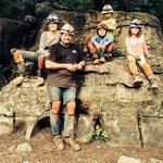 Five family explorers!